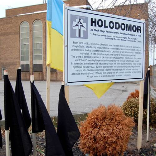 Holodomor Remembrance Day – November 25, 2017